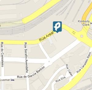 Parking Vigo - ubicación en Google Maps